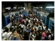 crowded station